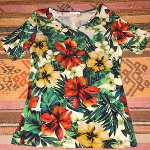Westbound Tropical Blouse